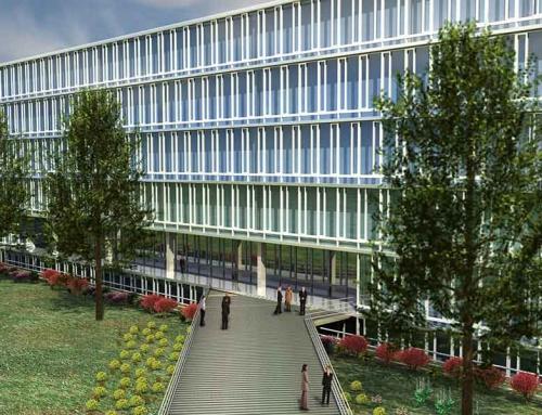 Bürogebäude mit Tiefgarage – Multimedia II